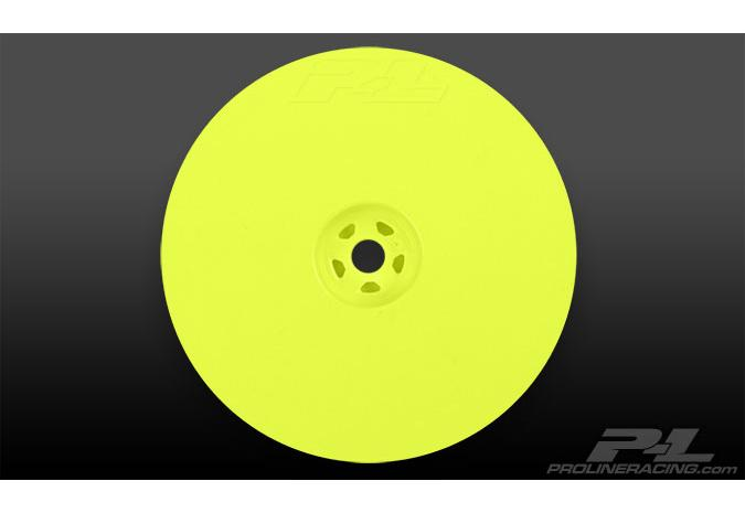 "Диски багги 1/10 - Velocity 2.2"" Hex Rear Yellow (2шт) for 22, RB5 and B4.1 with 12mm hex"